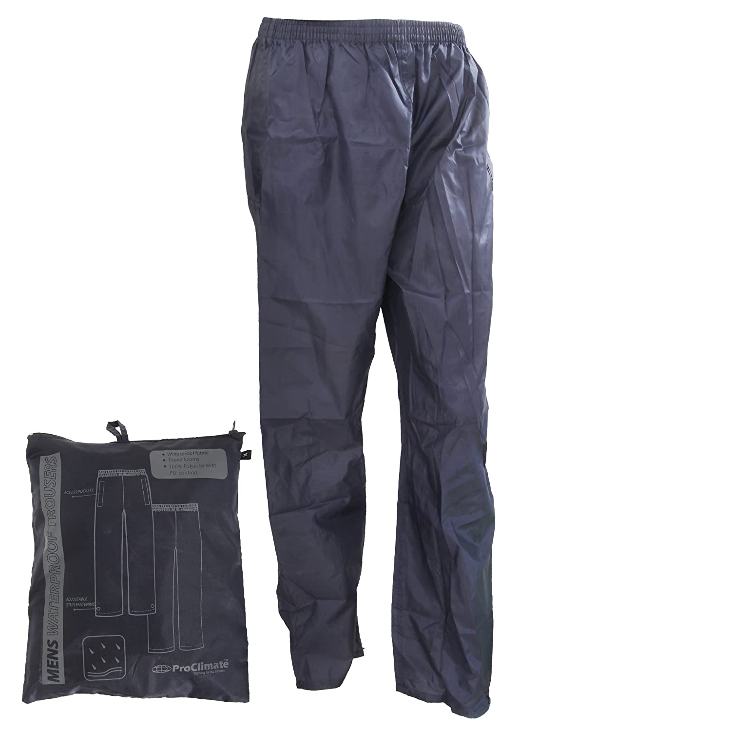 Pro Climate Mens Waterproof Trousers ProClimate