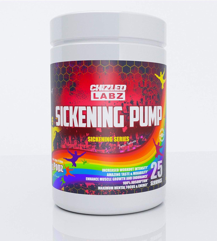 Sickening Pump Preworkout - Focus Energy Reps & Massive Pump (Skeetlz Popz)