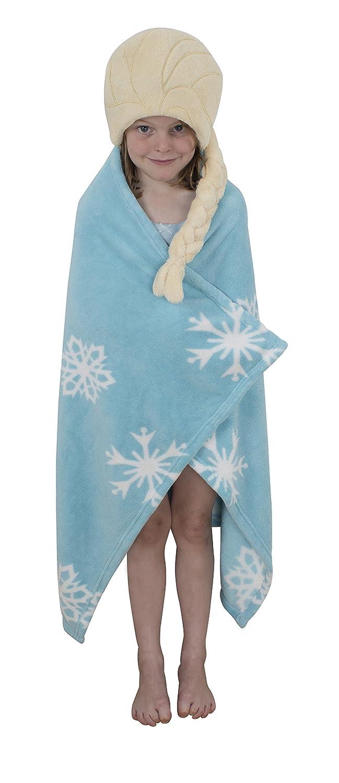Disney Frozen Character World Elsa Cuddle Robe, Blue DFRELSFL001UK