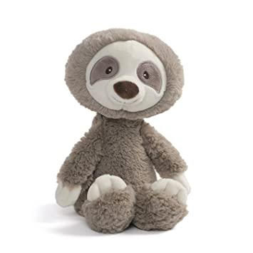 64c4ea15fa5 Image Unavailable. Image not available for. Color  Baby GUND Toothpick  Sloth Plush Stuffed Animal ...
