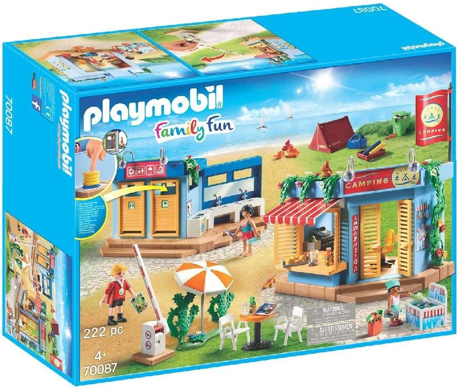 PLAYMOBIL Family Fun Camping, A partir de 4 años (70087): Amazon ...