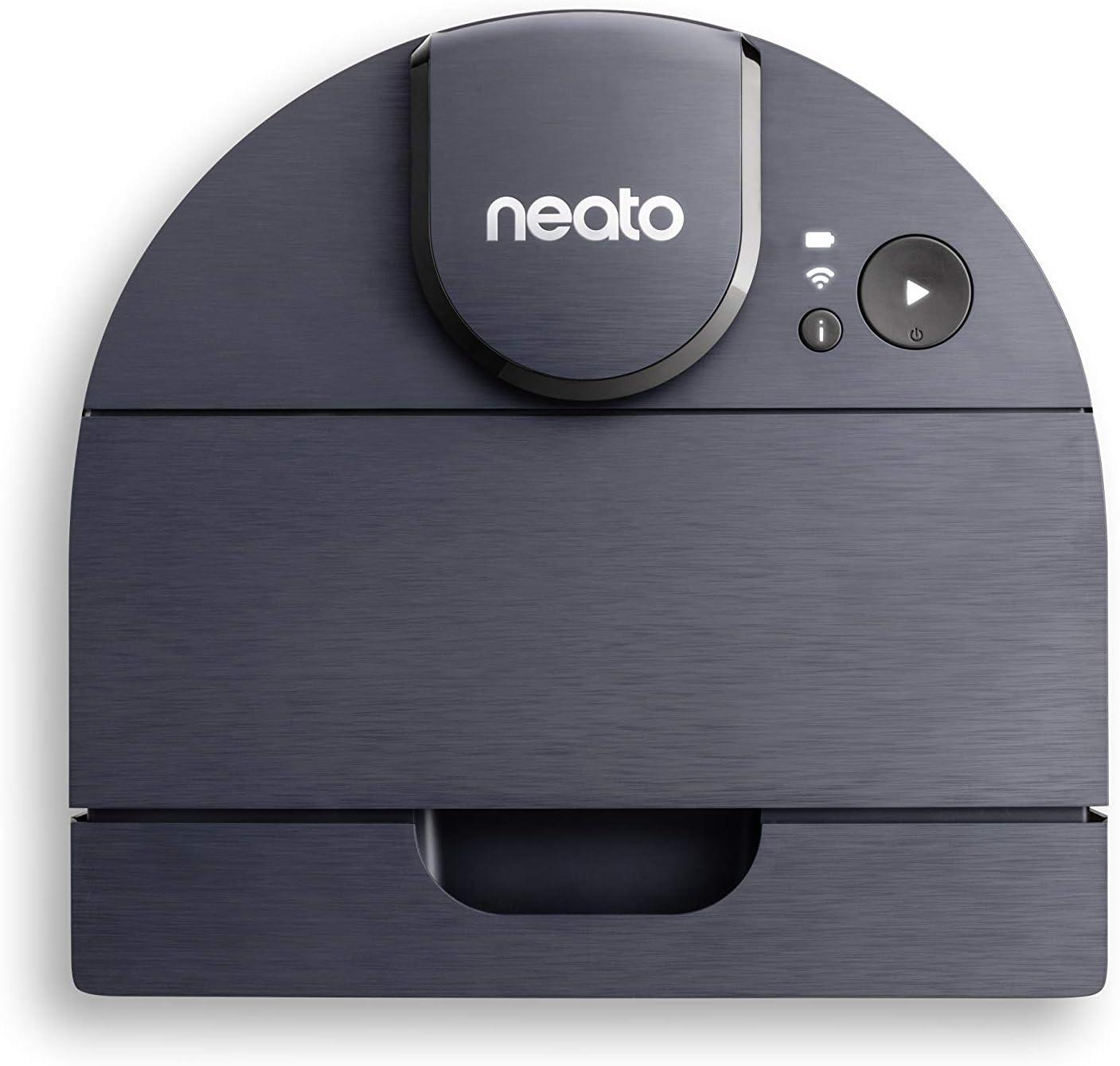 Neato Robotics D8 Intelligent Robot Aspirateur, Aspirateur Robot avec navigation laser, longue...