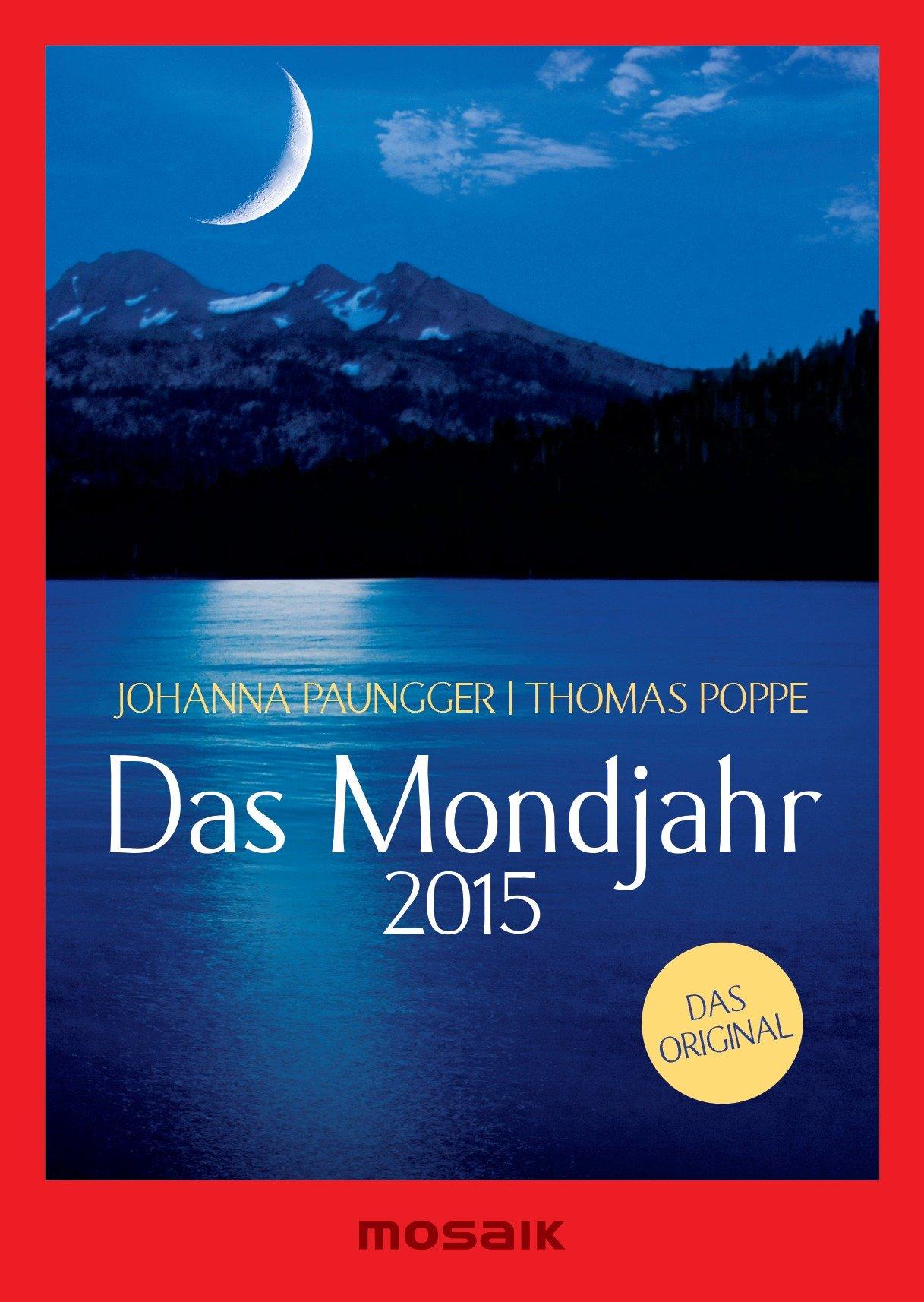 Das Mondjahr 2015: s/w-Taschenkalender