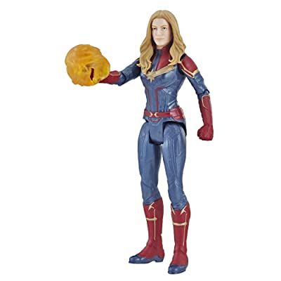 "Avengers Marvel Endgame Captain Marvel 6""-Scale Figure: Toys & Games"
