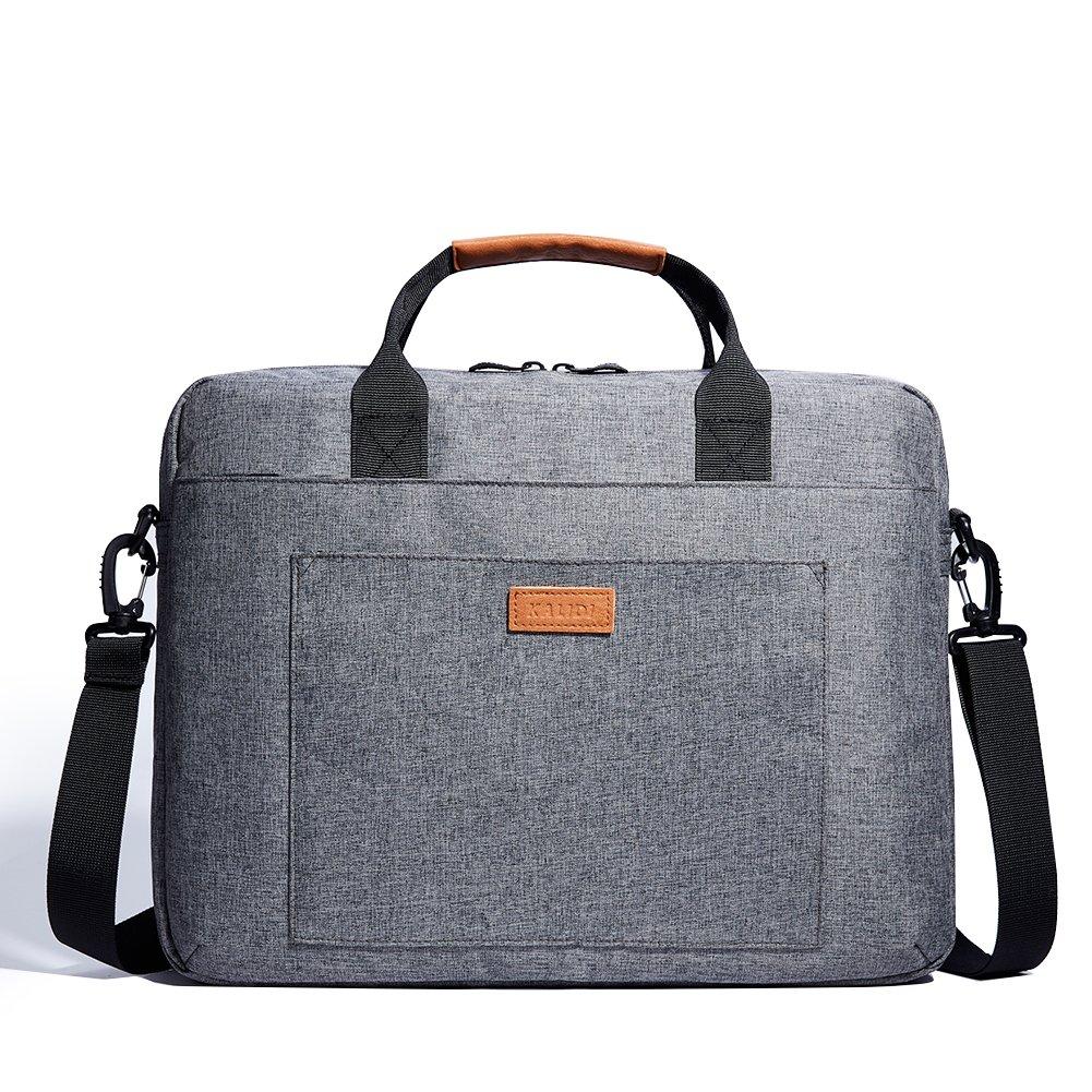 Maletín para portátil KALIDI laptop funda para  pulgadas Ordenador Portátil gris