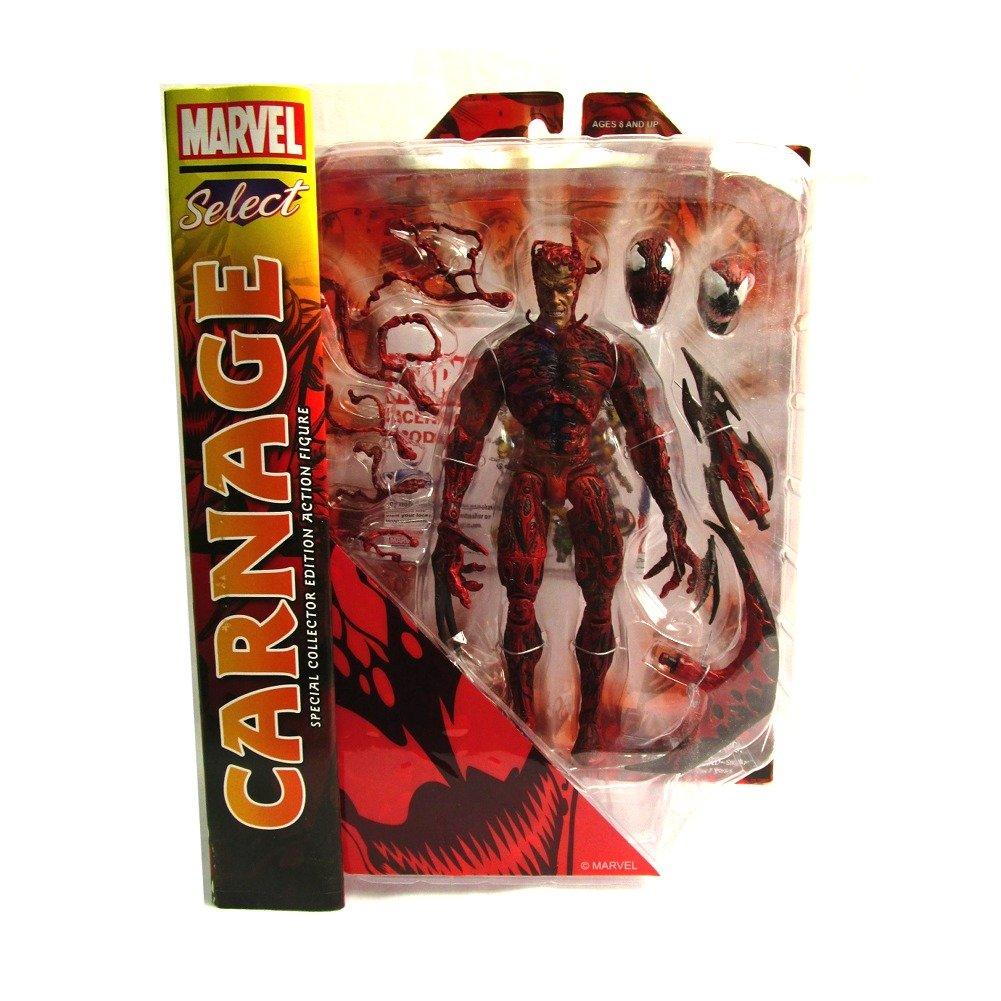 Amazon Com Diamond Select Toys Marvel Select Carnage Action Figure
