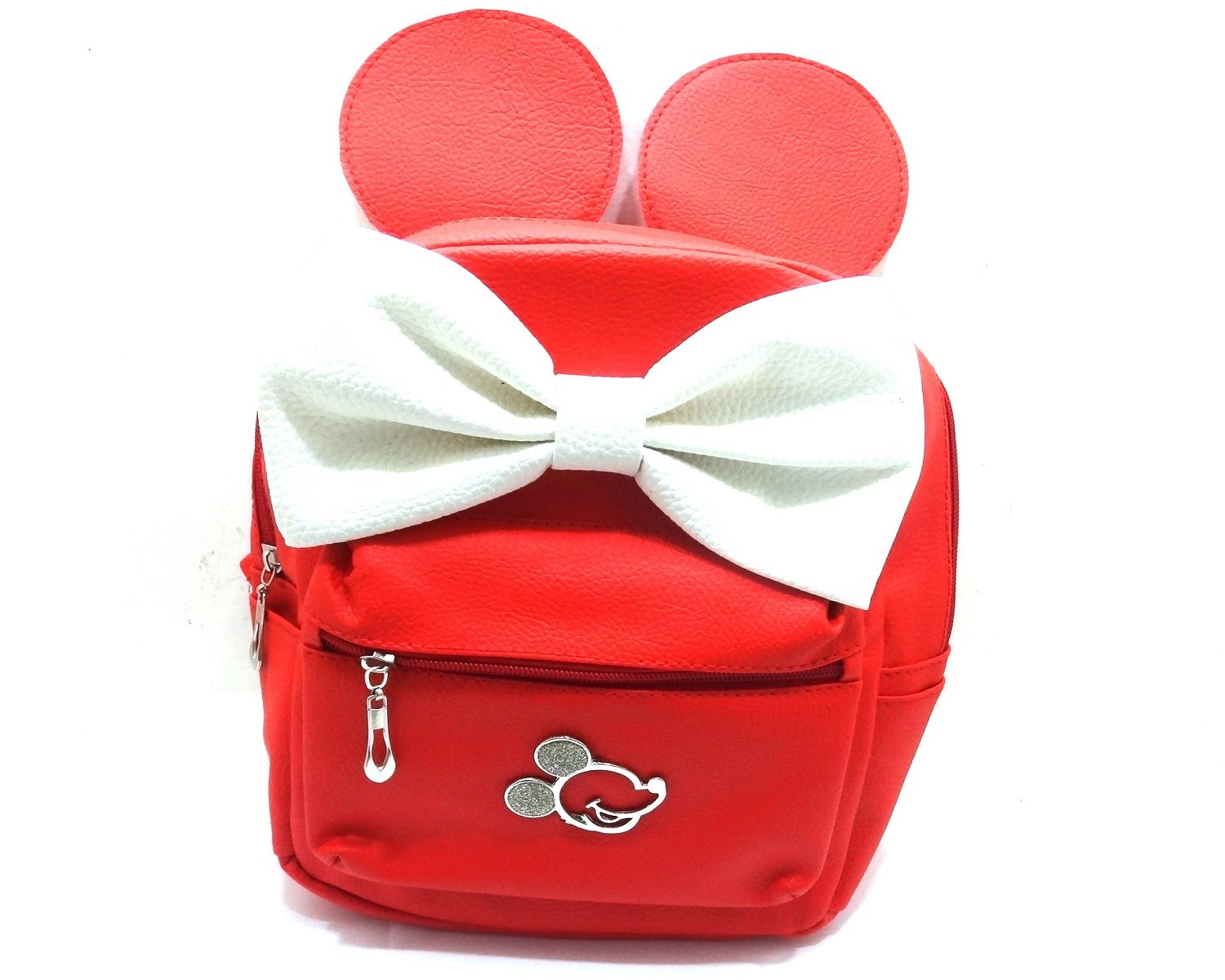 GSC Moda Mini Backpack Red Bag Lady Girls Teens Mouse