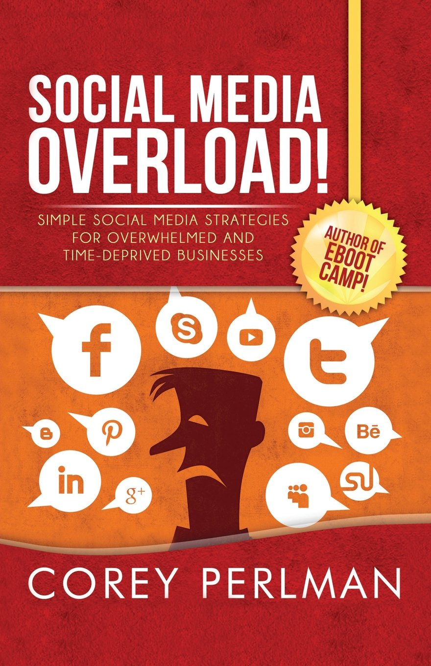 Social Media Overload Strategies Overwhelmed product image