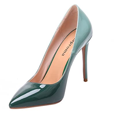 ZAPROMA Frau Schuhe High Heel Pump Slip-On Stiletto