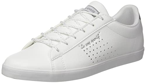 ef0799828cb5 ... coupon code le coq sportif womens agate lo s lea metallic bass trainers optical  white 55fe2