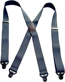 product image for Classic Series HoldUp Suspenders Basic Charcoal Grey X-Back