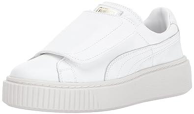 Puma Women s Basket Platform Strap Wn Sneaker  Buy Online at Low ... 20f37d729