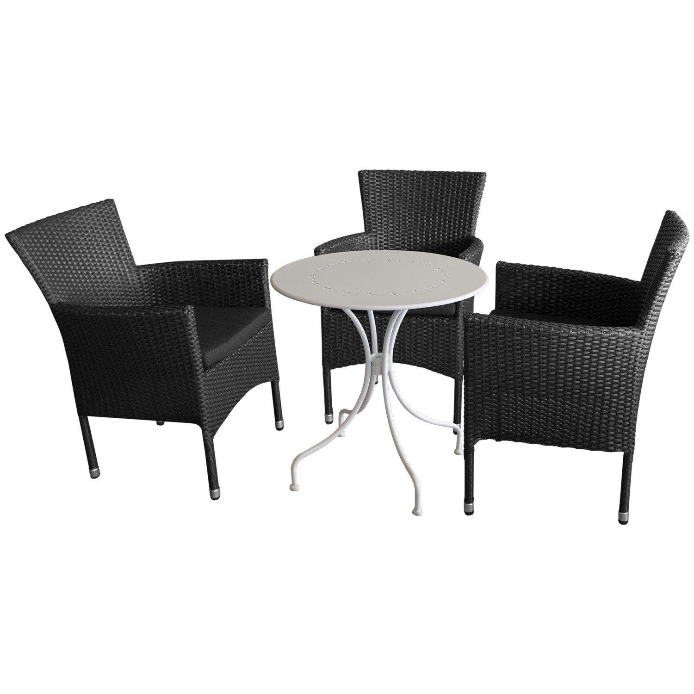 4 piezas. y sillas para jardín Bistro - - Muebles de terraza ...