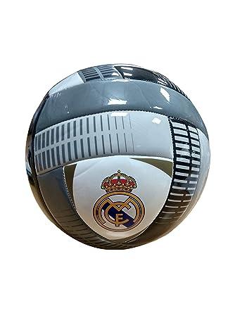 REALMADRID Real Madrid Balón de fútbol Unisex niños, Gris Talla 5