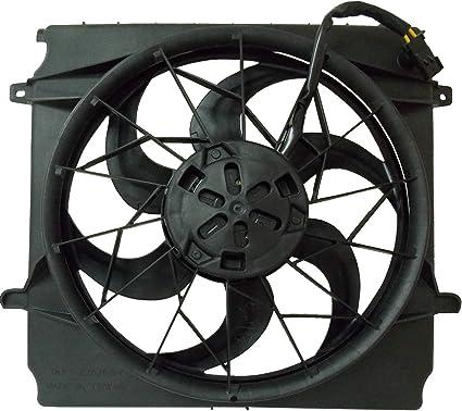 Radiador de refrigeración ventilador para Jeep se adapta a la ...