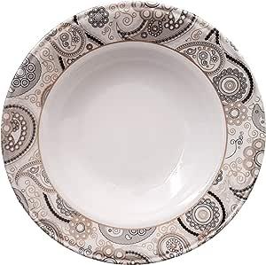 Melamine Set Of 6 Pieces Plates & Dishes, Multi Color, 6281093671085