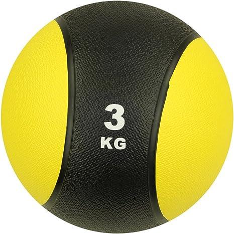 Carnegie 3 kg Balón Medicinal Fitness – Pelota de balón de ...