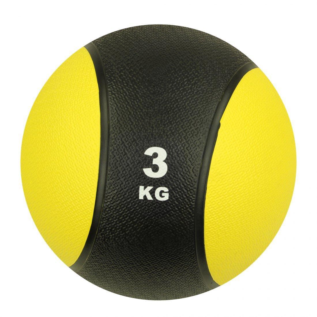 Carnegie 3kg Balón Medicinal Fitness–Pelota de balón de Crossfit, Entrenamiento de la Fuerza CAVPX|#Carnegie Fitness 527643