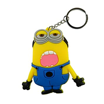 Buy Cdp Despicable Me Minion Big Open Mouth Pvc Figure Keychain