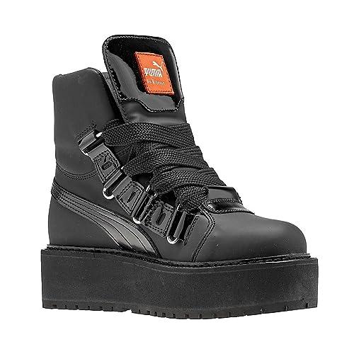 Zapatillas deportivas para hombre SB Eyelet Rihanna Puma Black / Puma Black / Puma Black: Amazon.es: Zapatos y complementos