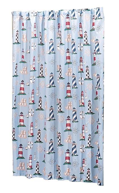 WalterDrake Lighthouse Shower Curtain OakRidgeTM