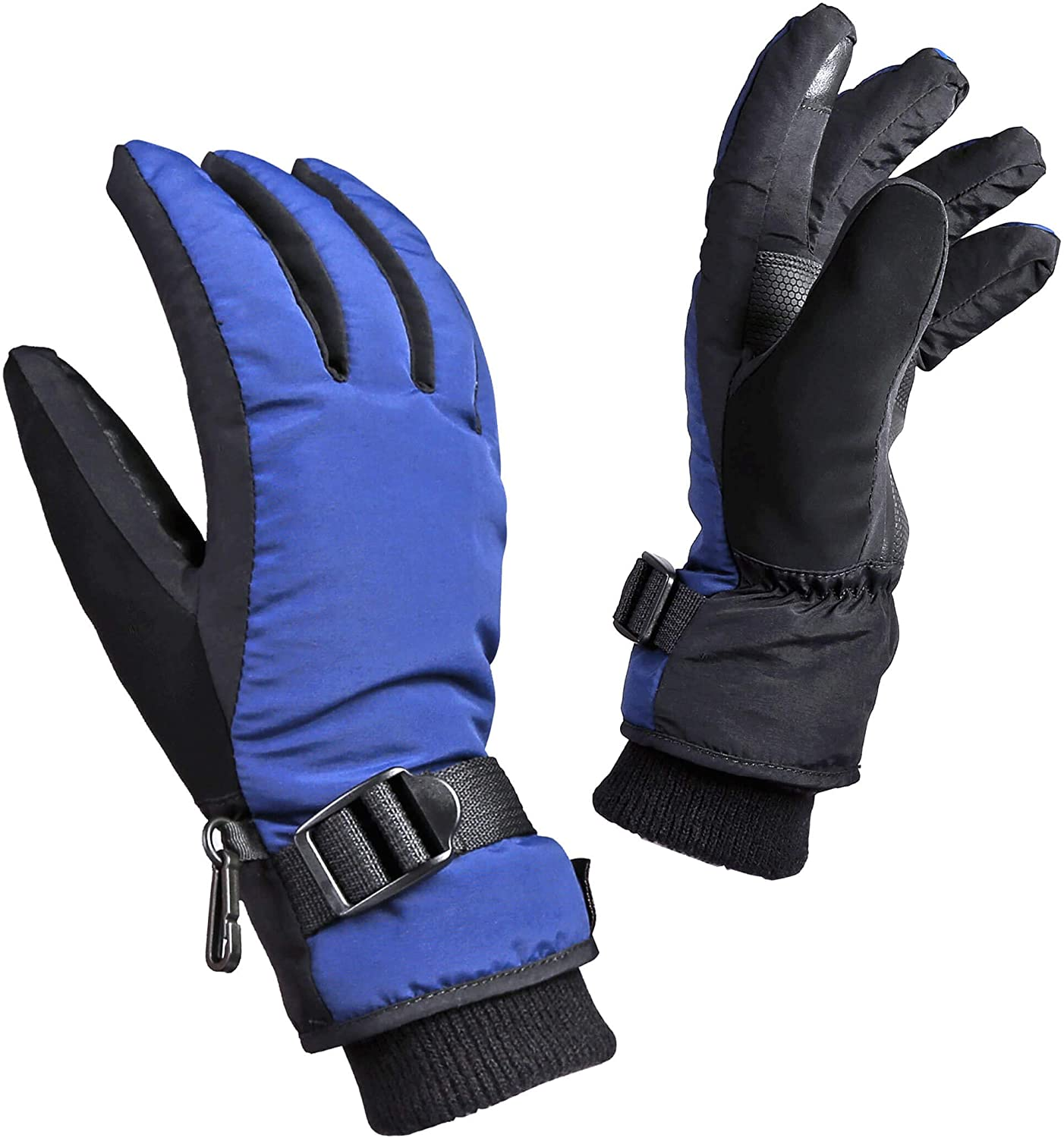 Children Bike Gloves Kids Winter Warm Waterproof Outdoor Fleece 3M Touchscreen