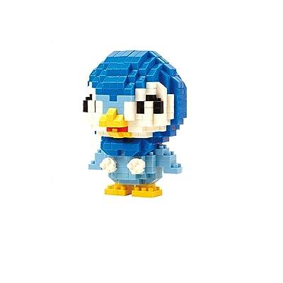 LNO Anime Monster Piplup Nano Blocks Diamond Mini Building Toy (370) pcs: Toys & Games