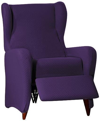 Eysa Sucre - Funda de sofá ajustable elástica , Morado