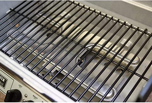 Broilmaster H3PK2N Natural Gas H3XN Grill Head Package with In Ground Post BL48G and 1 Drop Down Side Shelf