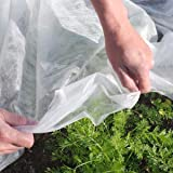 Originline PlantRow Cover & Frost Blanket for Garden, 1.5 oz/sq.yd, 14x50ft,Seed Germination & Frost Protection Cover