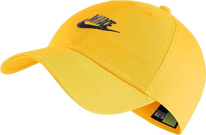 5688ad15 Amazon.com: Nike Sportswear H86 Cotton Twill Adjustable Hat: Clothing