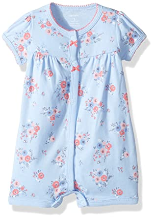 7e2ae2a7890 Amazon.com  Carters Baby Girls  Floral Creeper  Clothing