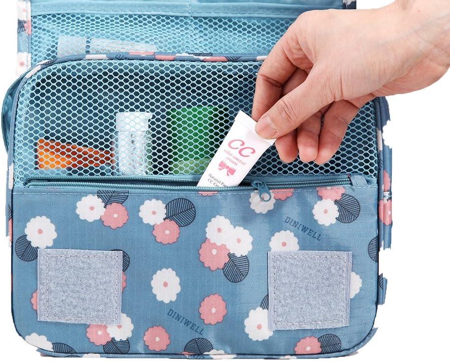 HiDay Hanging Toiletry Organizer Travel Makeup Bag for Women