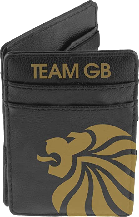 Highlander Team GB - Cartera, tamaño único, color negro: Amazon.es: Ropa y accesorios