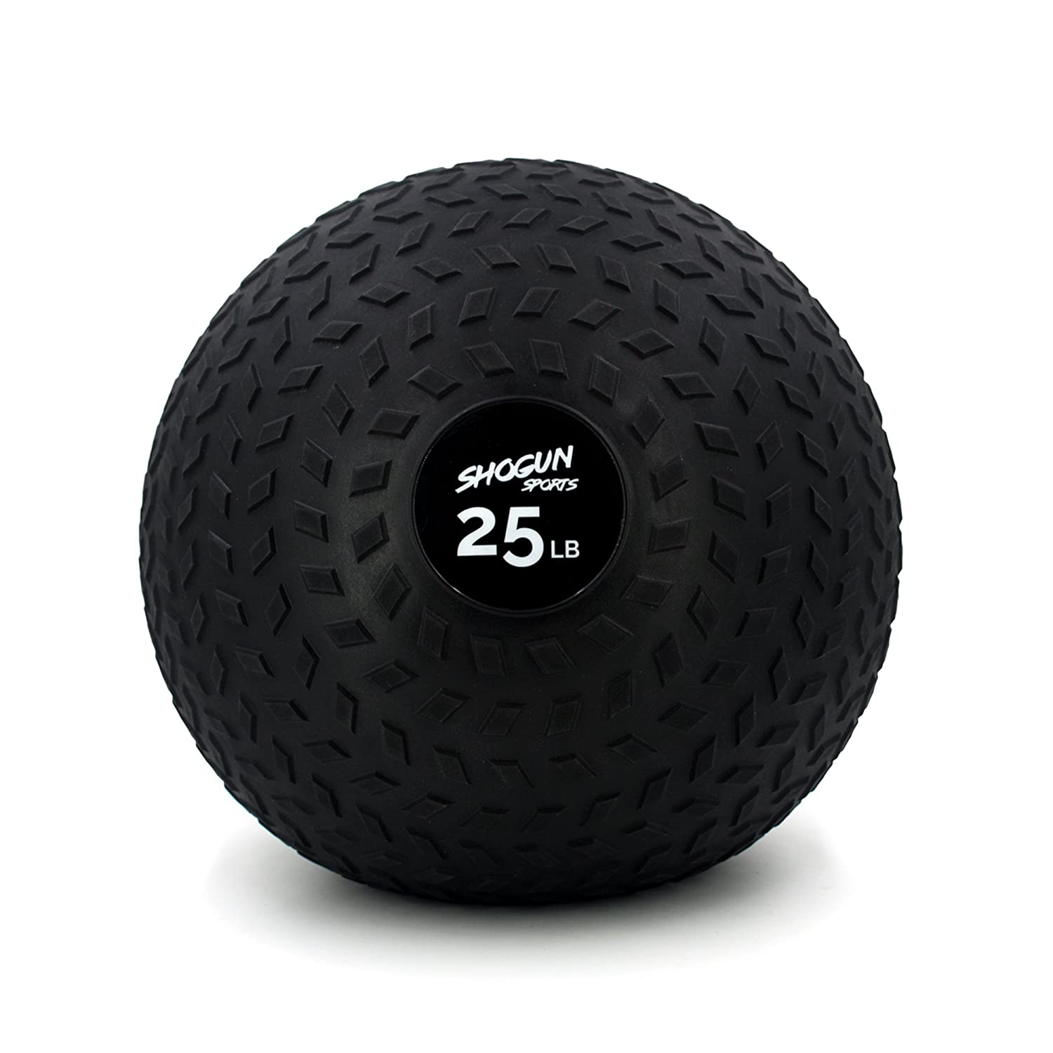 Shogun Sports Slam Ball Easy Grip Textured Slam Ball. Medicine Ball for Strength, Agility, Crosstraining. Available in 15, 25, 40 LBS
