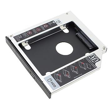 VANKER 12.7mm SATA HDD SSD Segunda Unidad de Disco Duro Caddy ...