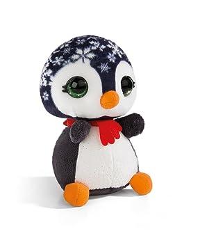 NICI NICIdoos Xmas pingüino, Peluche 16cm,, 16 cm (40377)