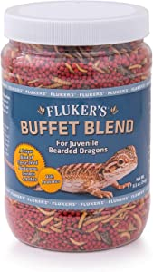 Fluker's Buffet Blend Juvenile Bearded Dragon Formula