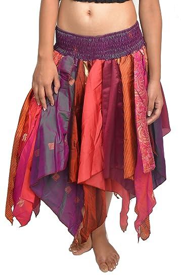 Wevez de la Mujer Tribal Falda Estilo Hojas Pack de 5 Surtido ...