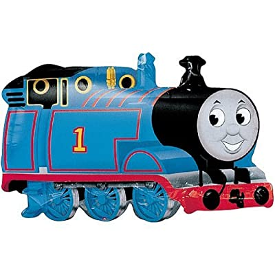 "Anagram International 696601 Thomas Engine 1 Shape Balloon Pack, 30"": Kitchen & Dining"