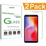 RKINC for Redmi 6AScreen Protector, [2 Pack] Crystal Clear Tempered Glass Screen Protector [9H Hardness][2.5D Edge][0.33mm Thickness][Scratch Resist] forXiaomi Redmi 6A