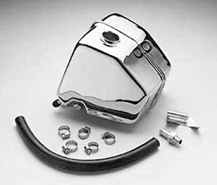 Amazon com: Chrome Oil Tank Kit for Harley Davidson FXR