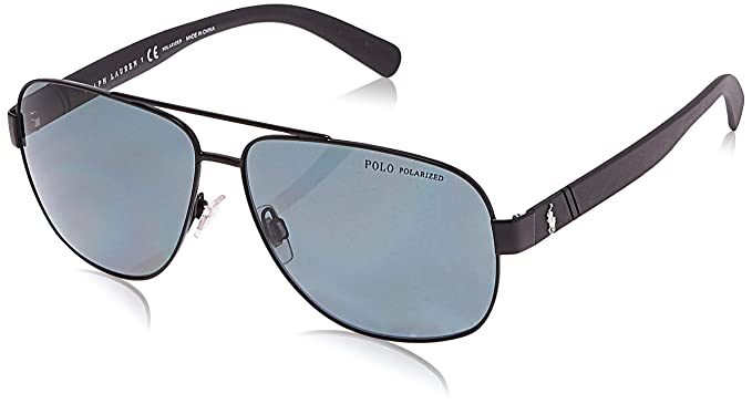 Ralph Lauren POLO 0PH3110 Gafas de sol, Demi Glos Black, 60 para ...