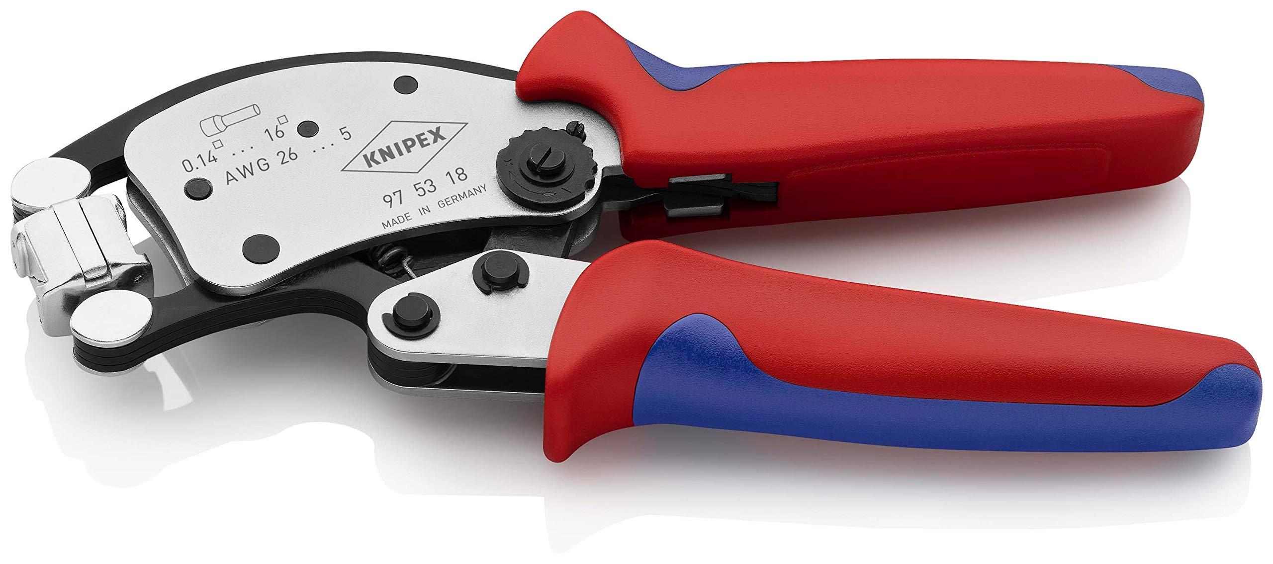 2465052-Knipex-97-53-18-Twistor16-Pinza-per-terminali-a-Bussola-con-Regolazion