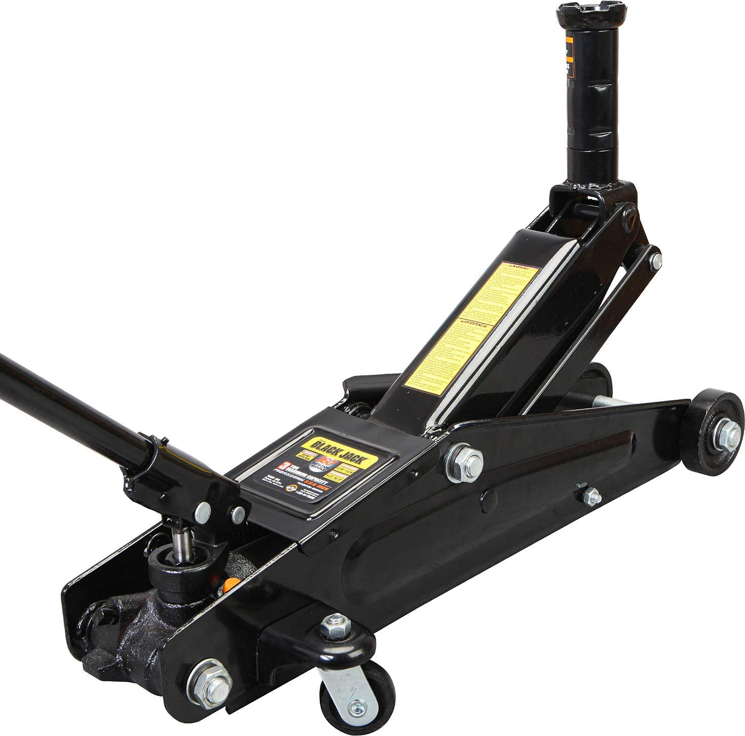 6,000 lb Torin A94117B Blackjack Hydraulic Trolley Service//Floor Jack Capacity : 3 Ton Black Fits: SUVs and Extended Height Trucks