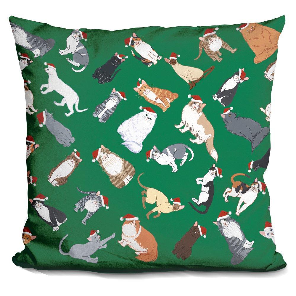LiLiPiCat Pattern 3 Decorative Accent Throw Pillow