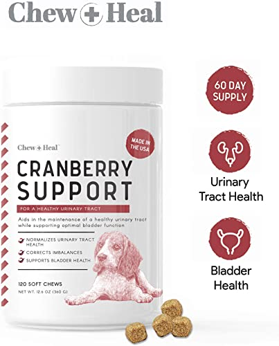 Chew Heal UTI Treatment Cranberry Chew