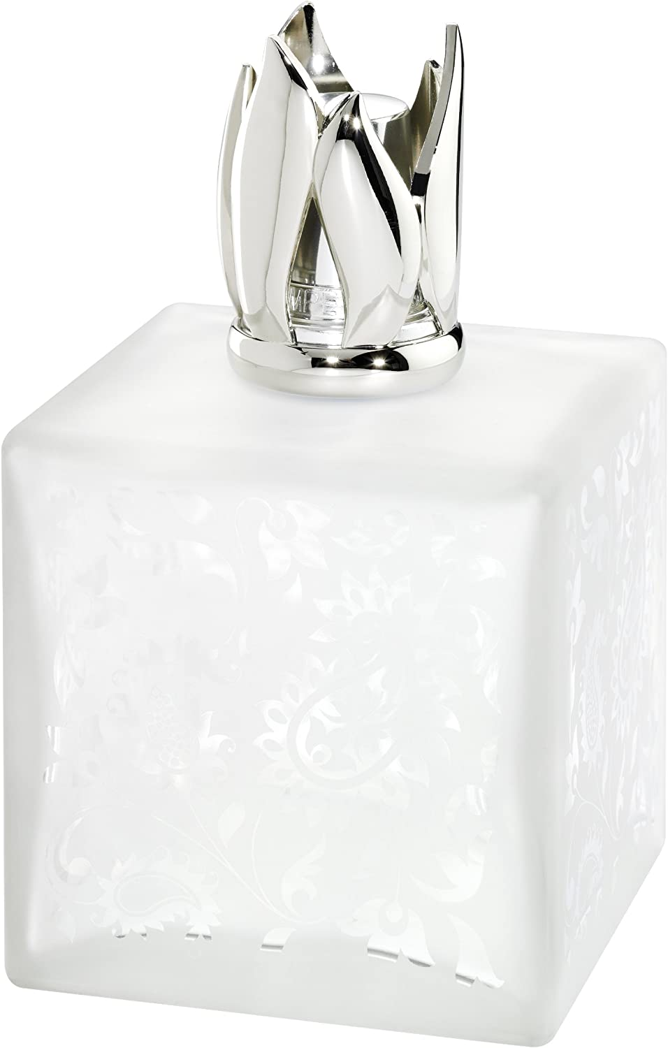 Lampe Berger Beaux-Arts Cube Candle Lamp, White