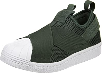 Olive Adidas Baskets Femme Slip Vert Superstar Mode Amazon On aW0aOq