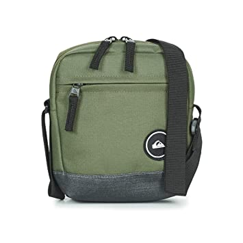 d38ae6c48a Quiksilver Magicall Pochette/Petit Sac Homme, Medium Grey Heather, FR  Fabricant : Taille